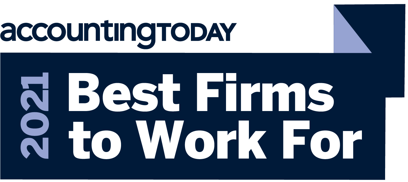 Accounting Today - 2021 Best Firms to Work with